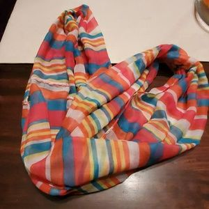 Accessories - Multi color infinity scarf